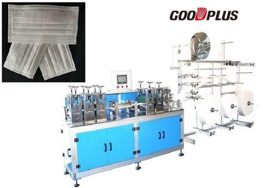 Automatic non-woven mask blank making machine