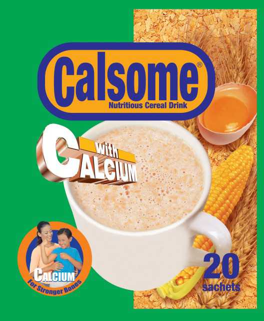 Calsome Nutrition Cereal Drink