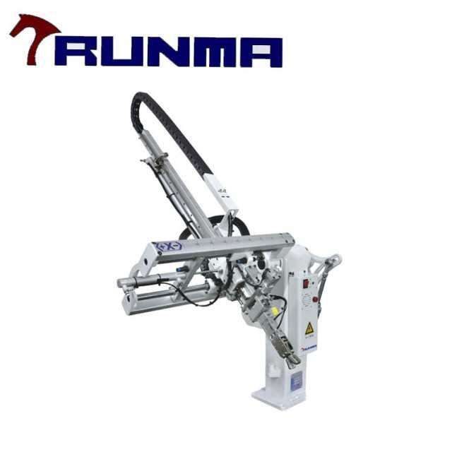 high speed pick place robot arm for plastic molding machine