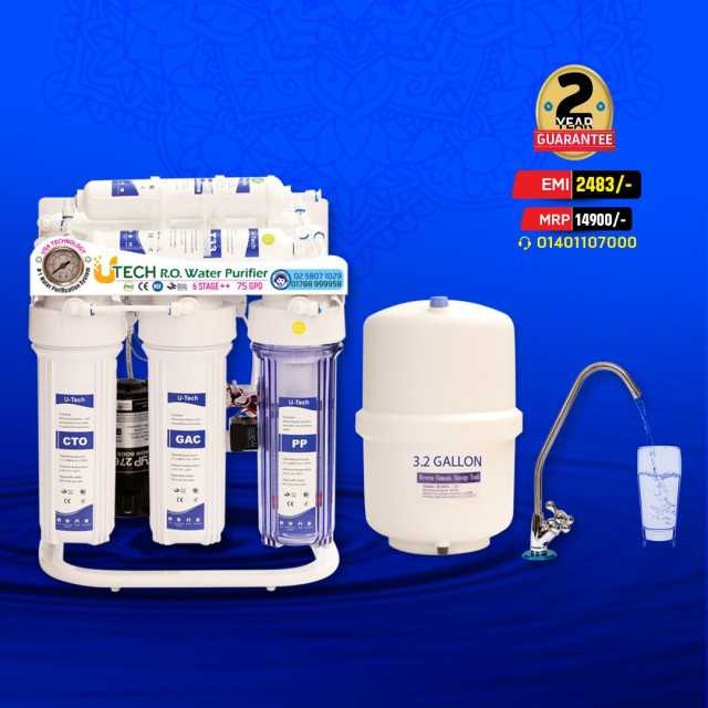 UTech RO Water Purifier