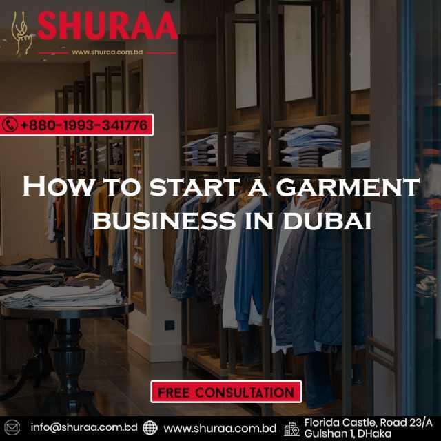 Start Garments Trading in Dubai