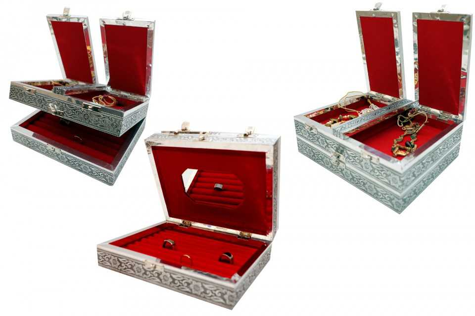 Multy Part Premium  Jewelry Box
