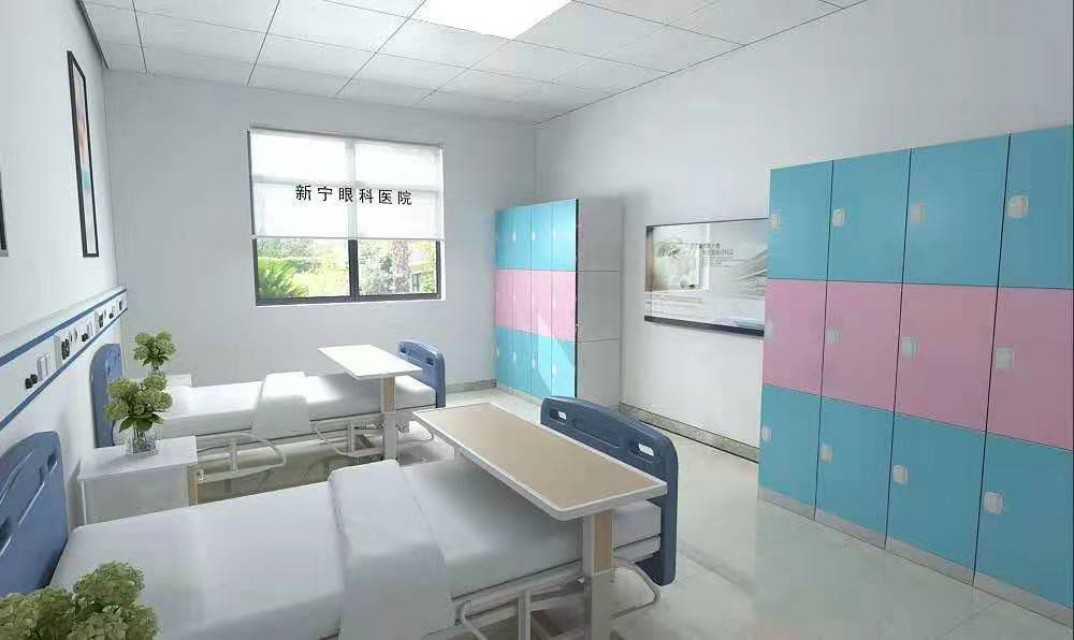 lockers in hospital