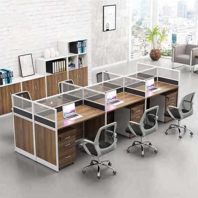 6 person office desk