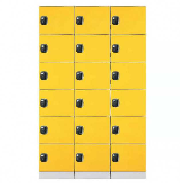 supermarket plastic locker