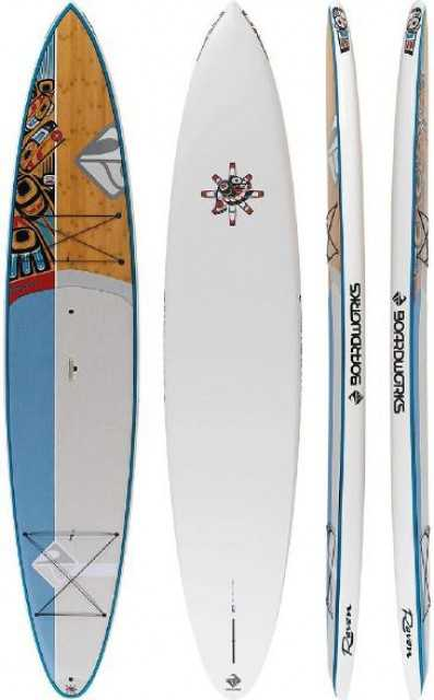 """Boardworks Raven Stand Up Paddle Board - 12'6"""""""