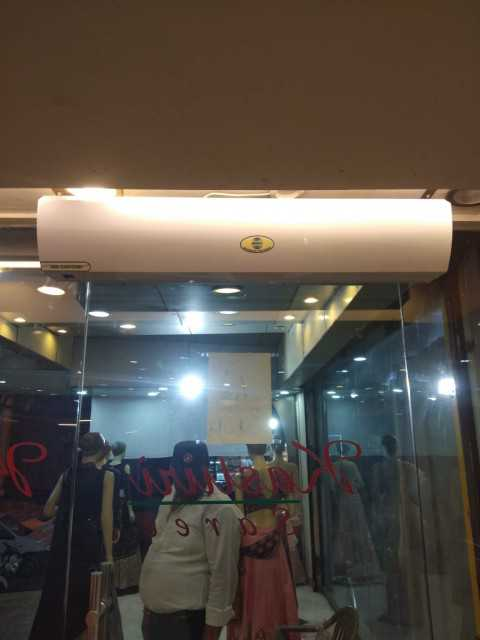 AIR CURTAINS FOR DOORS