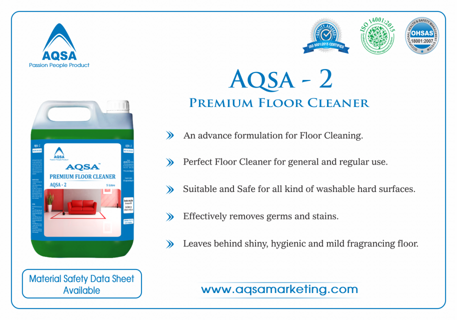 Premium Floor Cleaner (AQSA -2)