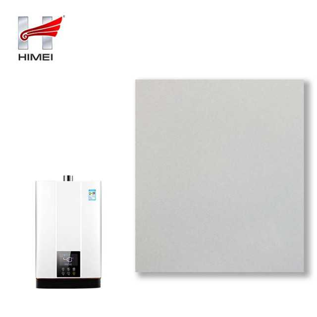White PVC Film Laminated Stainless Steel Sheet For Water Heater