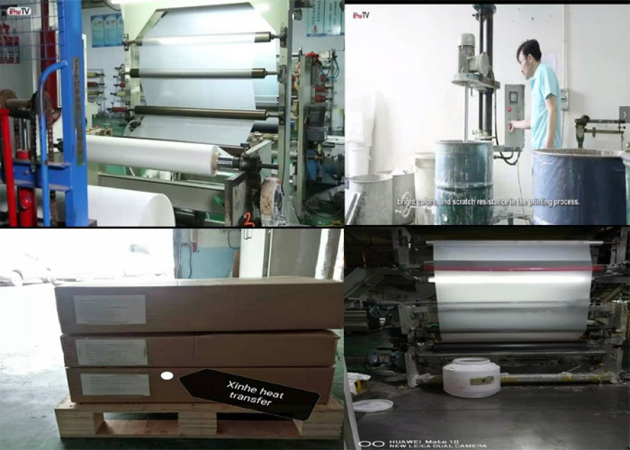 Cheapest Cold/Hot peel Matt heat transfer film for heat transfer label