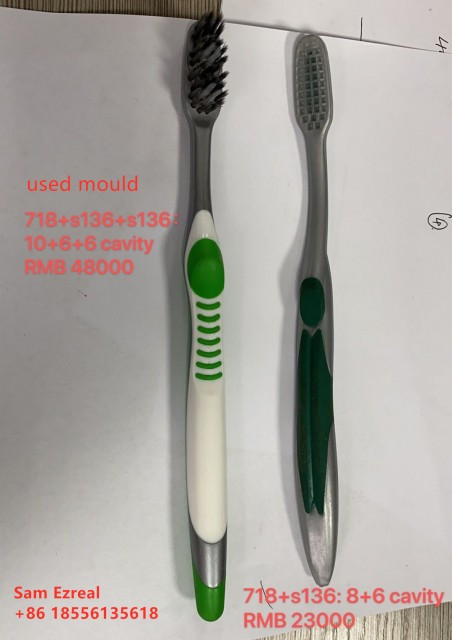 Plastic Injection Mould Used Toothbrush Mold Used Tooth Brush Mould