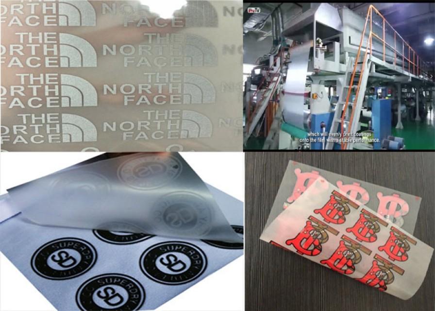 Cold peel matt 46x64cm 75micron heat transfer film iron on t-shirts