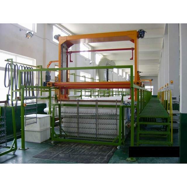 High quality copper coating chrome electroplating line