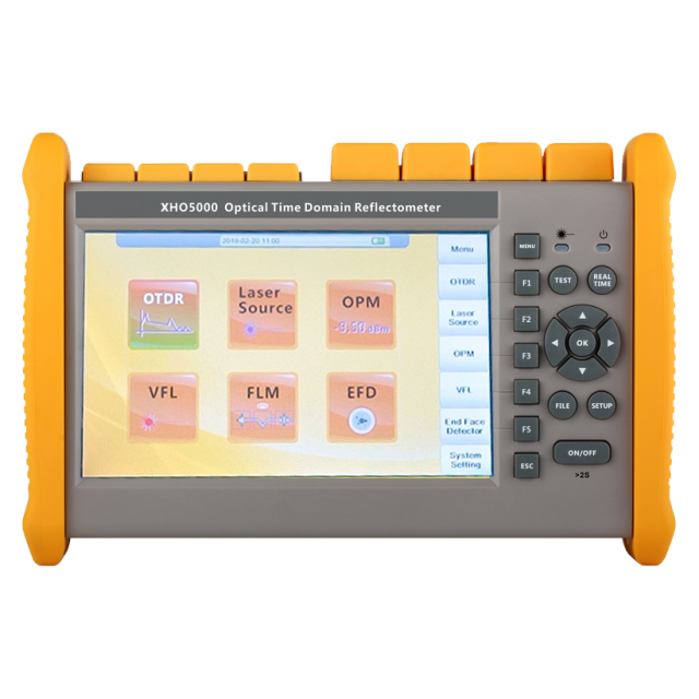 SHINHO XHO5000 Optical Time Domain Reflectometer with Event Map
