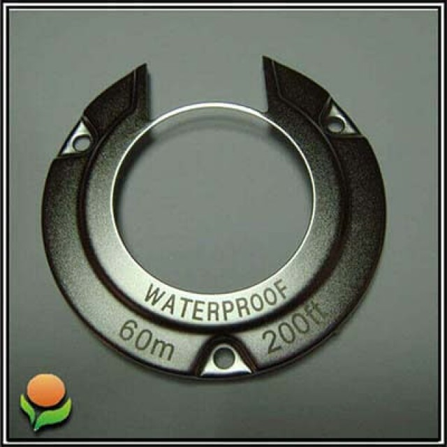 Stainless Steel Faceplate - Diving Camera Ring