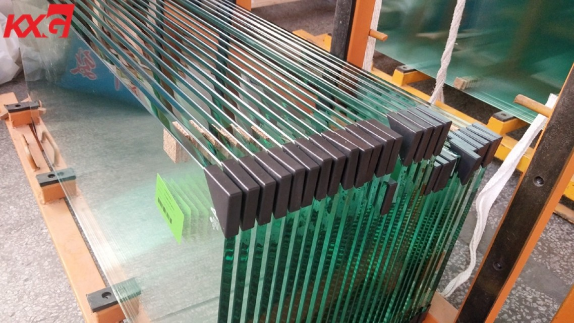 Kunxing glass factory supply CE Certificate 12mm Clear Toughened Glass