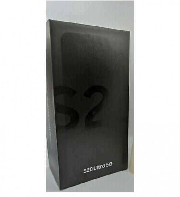 Samsung Galaxy S20 Ultra 5G 512GB Dual-SIM SM-G988B/DS Grey Factory Un