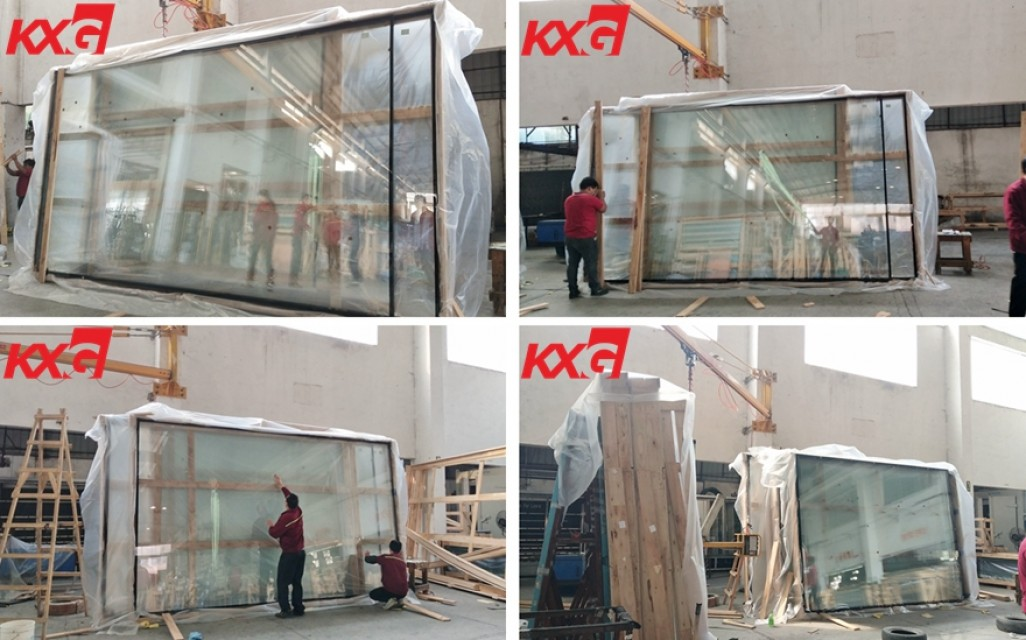 Jumbo size extra clear double glazed insulated glass for vilad window
