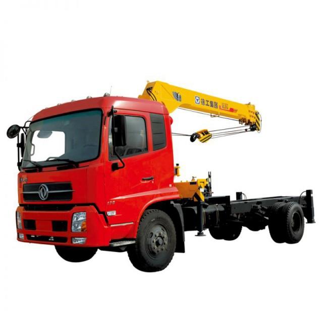 boom lifting truck mounted street light crane truck-mounted crane