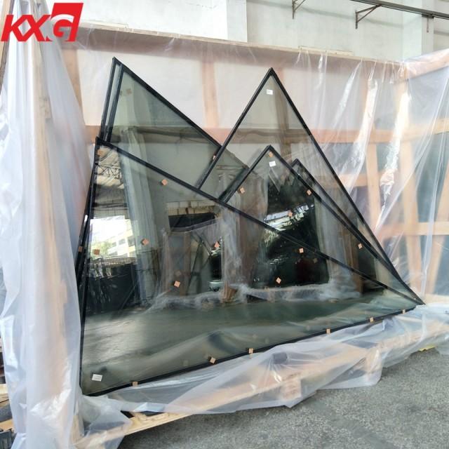 pecial-shapedtemperedlow e reflectiveinsulatedglass for skylight