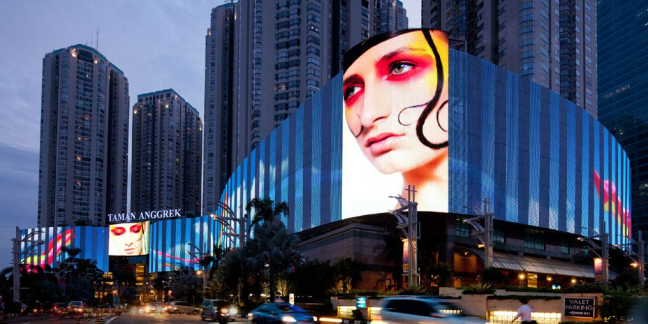 LED Media Facade for Architectural Visual and Lighting Solutions