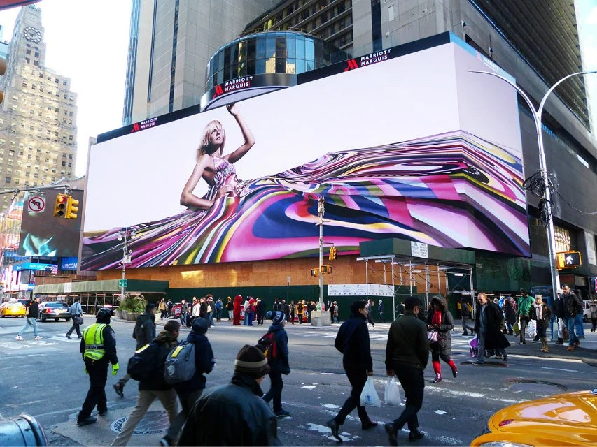 HD LED Video Display Screen For Outdoor Dynamic Advertising