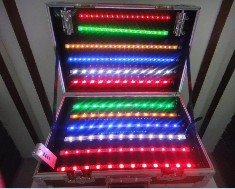 Outdoor waterproof flexible full color LED strip light