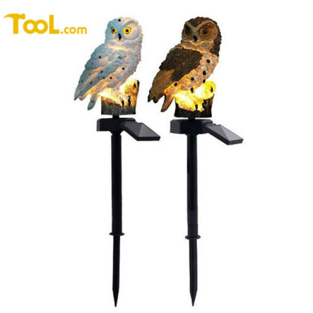 Owl Solar Light with Stake