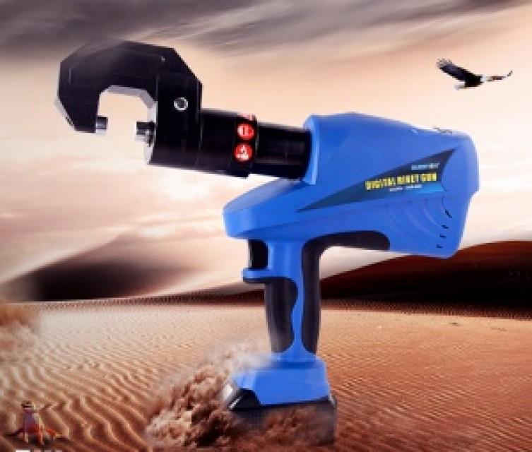 Digital rivet gun