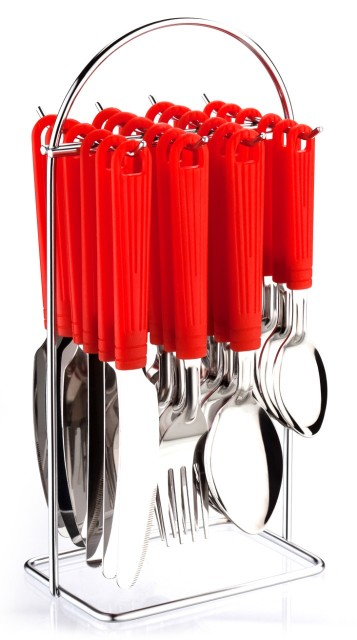 CUTLERY SSTAINLESS STEEL AND PLASTIC