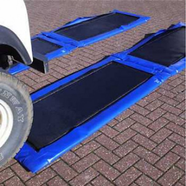 Vehicle disinfection mats