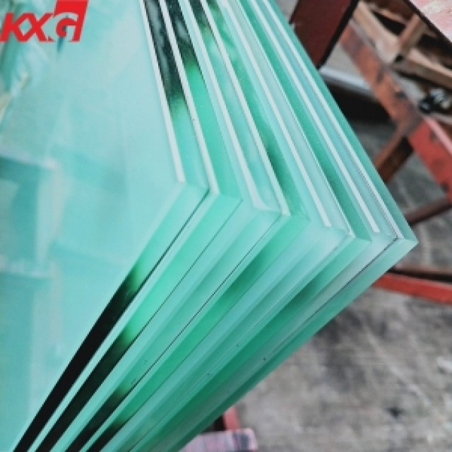 Frosted toughened glass, factory price acid etched tempered glass