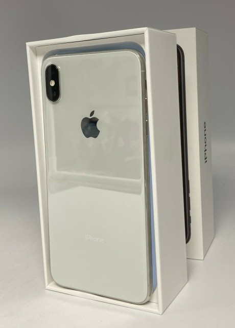 Apple iPhone XS Max - 256GB - Silver (AT&T) A1921 (CDMA + GSM)
