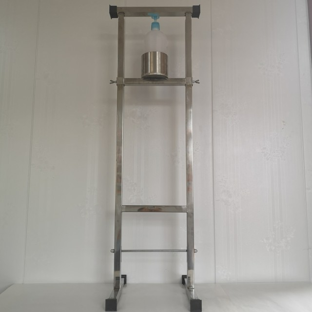China stainless steel hand sanitizer dispenser for schools