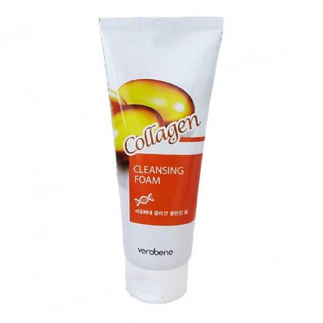 Verobene Collagen Cleansing Foam 150 ml Korean Cosmetics