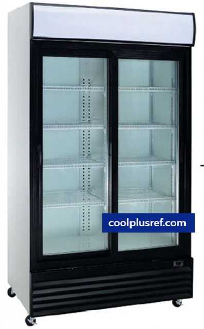 Refrigerated Showcases: Upright Beverage, Drinks & Wine Display Cooler