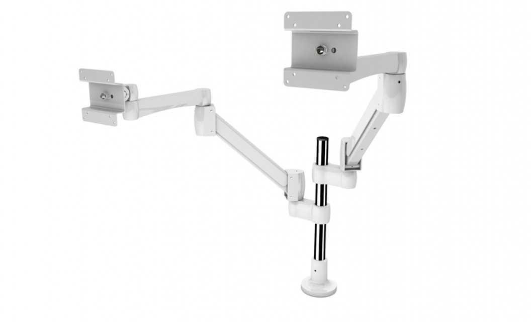 Fully Adjustable Premium Single LCD Monitor Arm Desk Mount