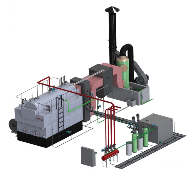 EPCB High Quality Coal Fired Steam Boiler for Textile Industry