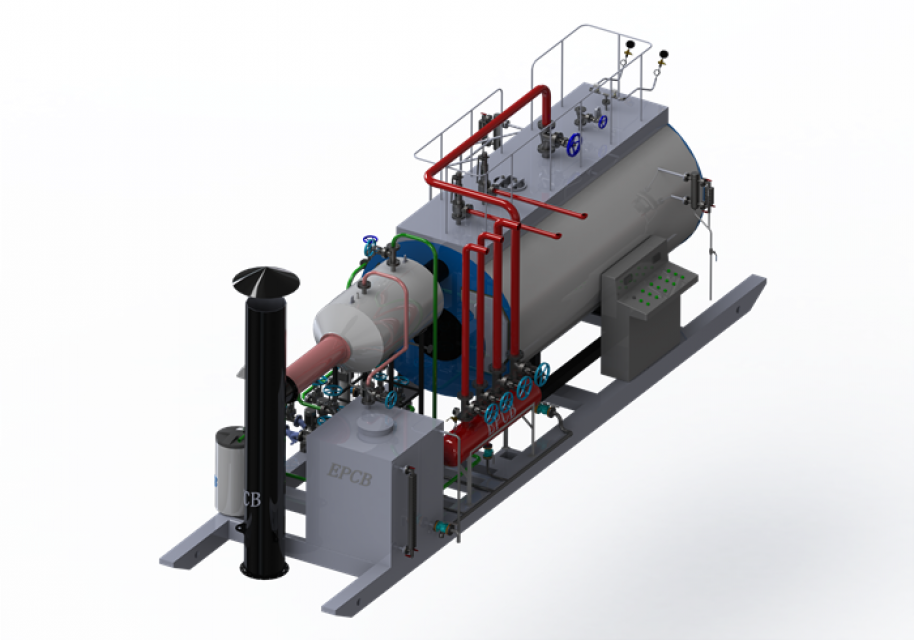 Free Installation Steam Boiler for Textile Industry