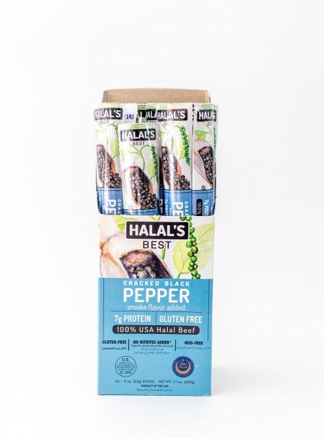 Cracked Black Pepper Beef Sticks