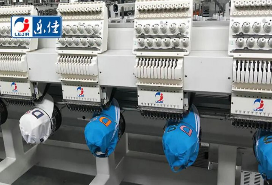 LJ-MX1212 12 Heads Computerized Cap Embroidery Machine