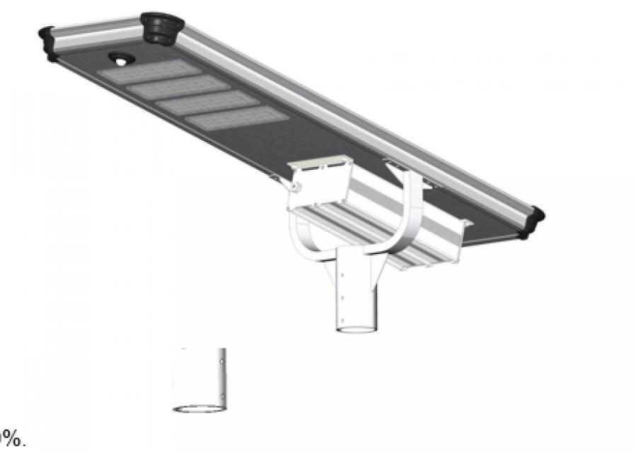 EXC-CR-W08 Solar powered street light