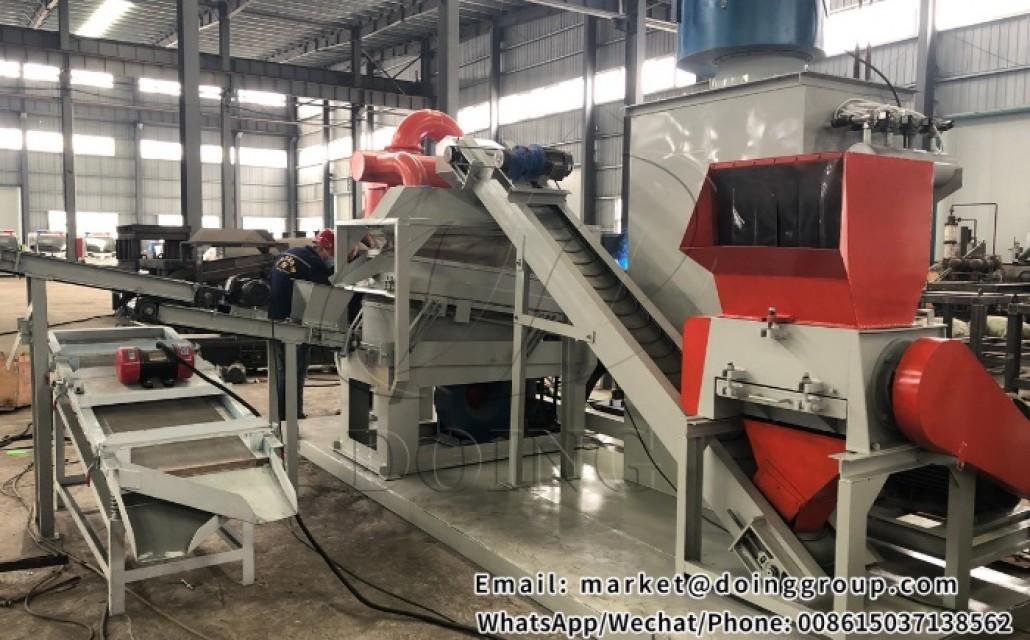 Coppe wire granulator machine