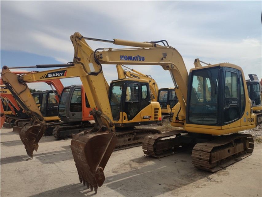 Japanese made model 60 used second hand excavator