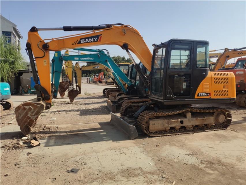 China made brand Sany 95 used second hand excavator