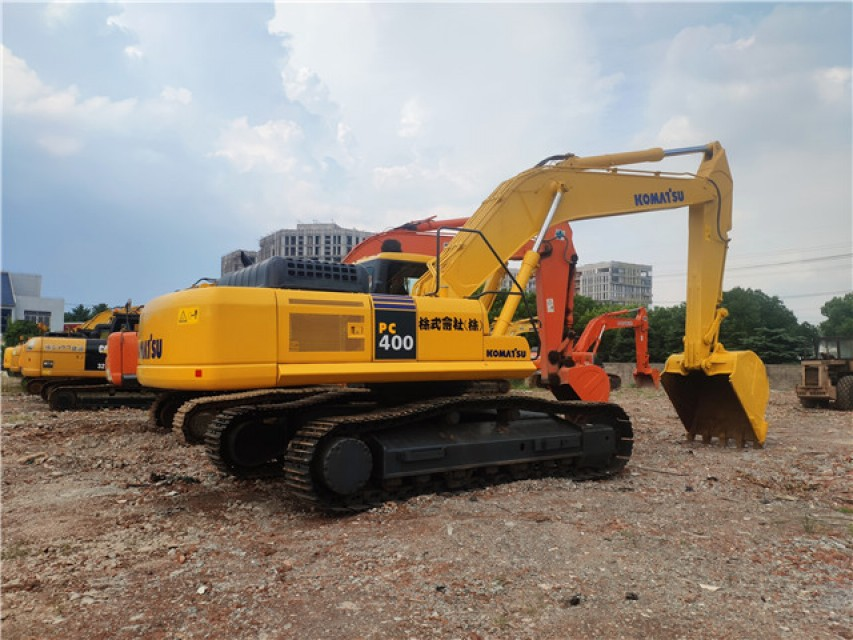 Japanese brand  PC400-7 KOMATSU big sized used second hand excavator