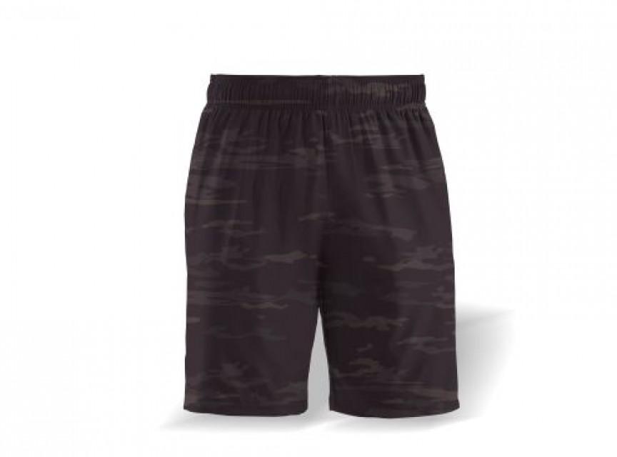 Athletic Shorts Camo Print.