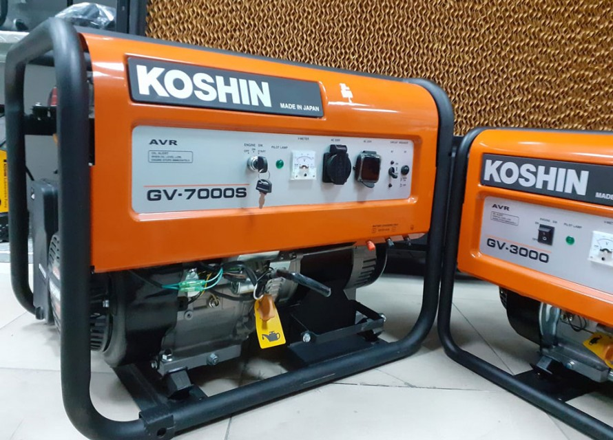 KOSHIN HONDA GX390 Gasoline Generator GVH-7000S