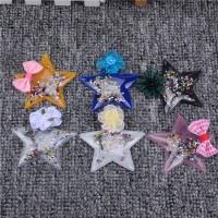 TPU PVC 3d sequin glitter plastic patches