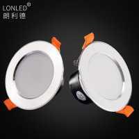 LED Downlight Aluminum Case + Rear Cover  --Lonled